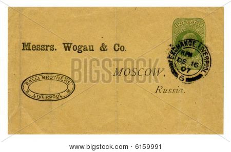 Envelope Wogau & Co