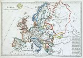 Old Map Of Europe, poster