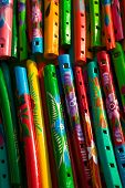 Colorful Flutes