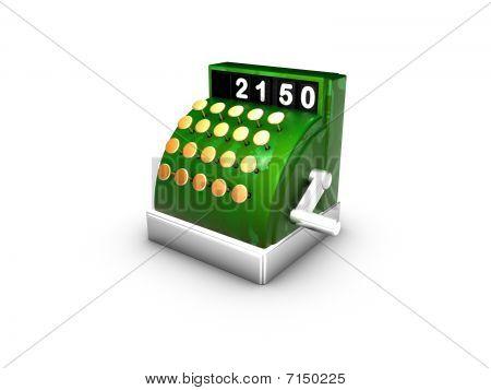Checkout Symbol, Till