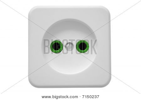 Electric Socket_green