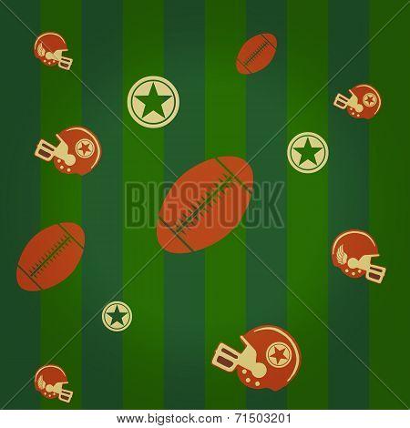 american football pattern