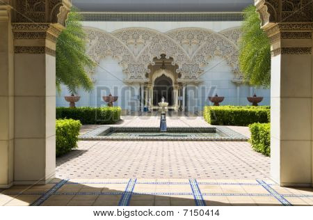 Moroccan Architecture Inner Garden.