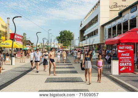 Mamaia Resort View At The Black Sea