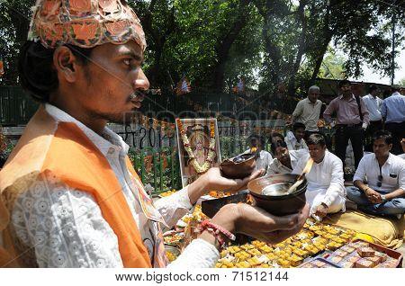 Religious ceremony.