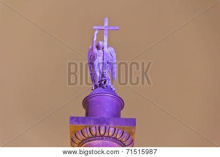 Angel On The Top Of Alexander Column