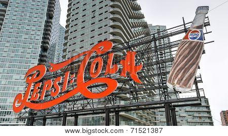 Pepsi Cola Sign, Long Island City