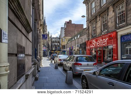 Drummond Street, Inverness, Scotland