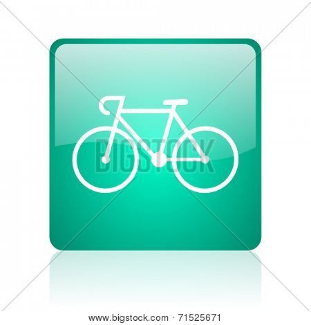 bicycle internet icon