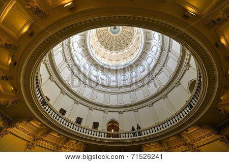 Texas State Capitol Rotunda, Austin, Texas
