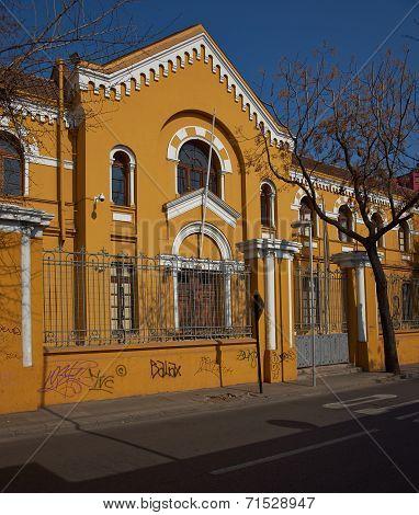 Colorful Architecture of Chile