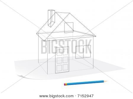 Simple House Sketch