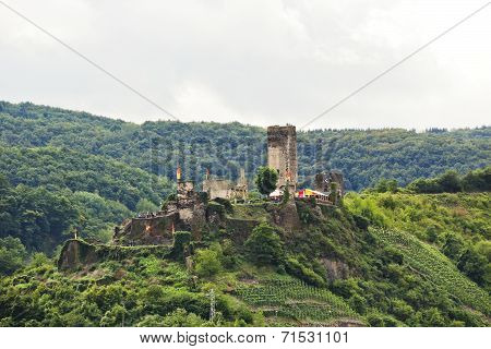 Metternich Castle (burg Beilstein) On Green Hill