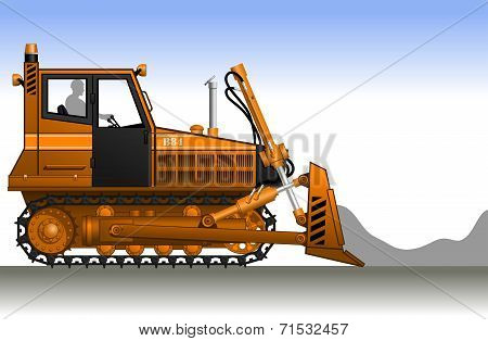 Bulldozer.