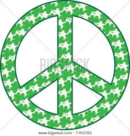 Shamrock Peace Sign.eps