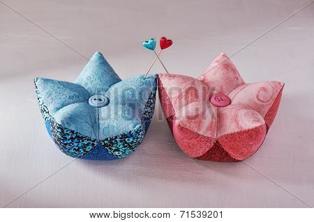 Two Pin Cushions