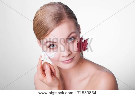 Face Of Young Woman