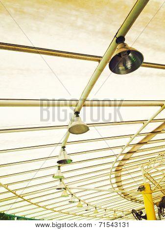 Limpid Round Ceiling