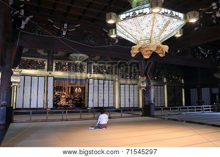 Nishi Honganji temple Kyoto Japan