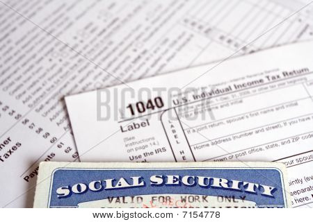 Social Security Tax On Form 1040