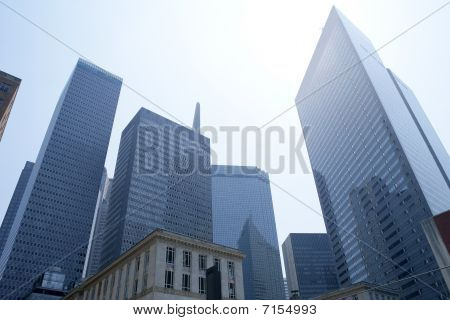 Dallas Downtown City Urban Bulidings View