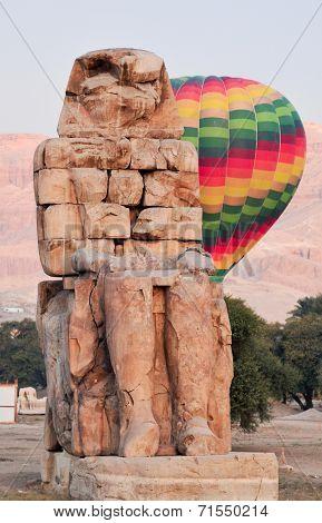 Collosi Of Memnon - Luxor, Egypt