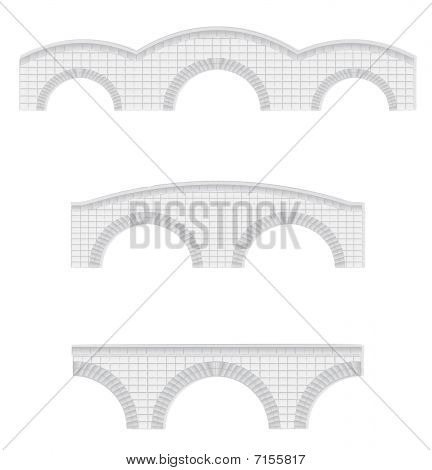 stone bridges illustration