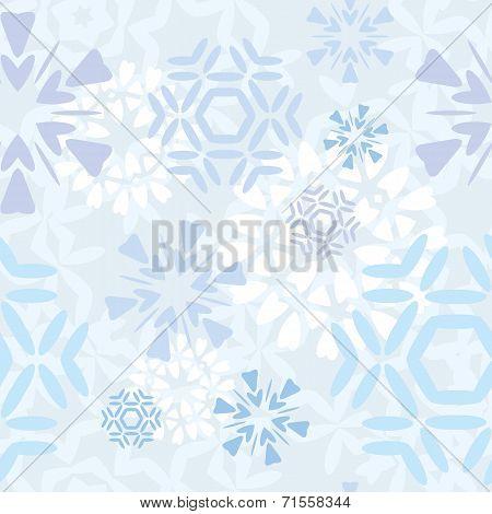 Light Snowflakes Pattern