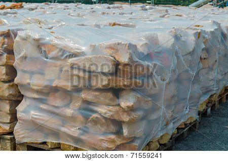 Sandstones On Pallet