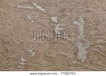 Abstract Texture Of The Shabby Leather Sepia Color