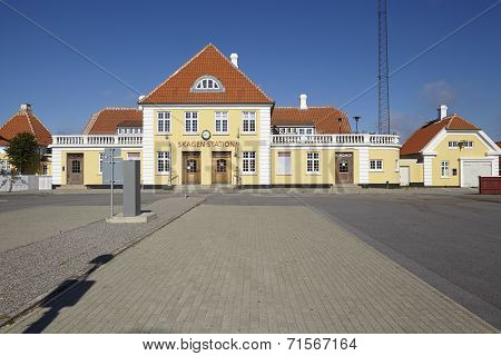 Skagen (denmark) - Old Central Station
