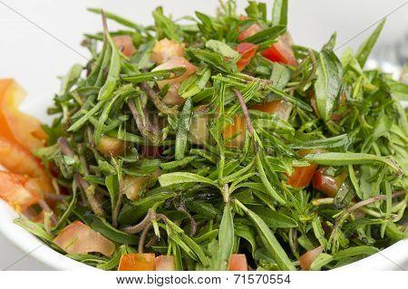 Thyme and tomato Salad