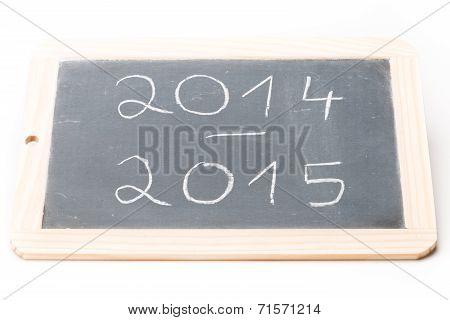 Slate Board 2014-2015