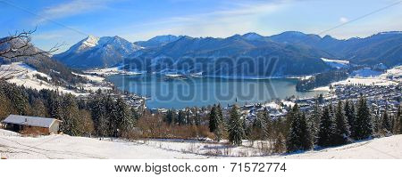 View To Lake Schliersee, Germany