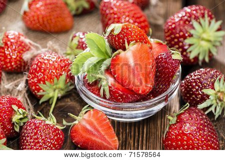 Fresh Made Strawberry Pieces