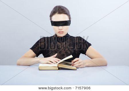 Blind reader
