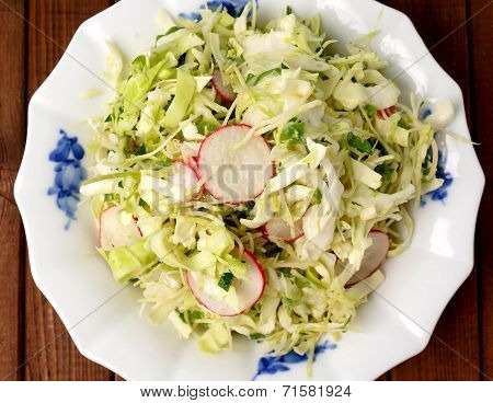 Fresh Summer Cole Slaw