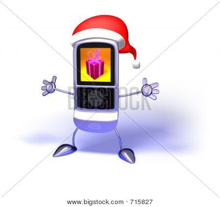 Santa Claus Mobile Phone