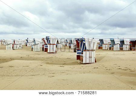 Colourful Beach Baskets