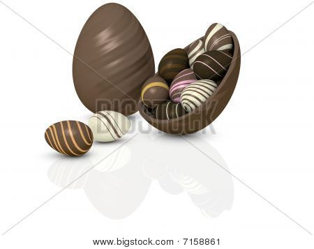 Choccy eggs