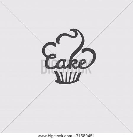 Cake. Candy Shop Sticker