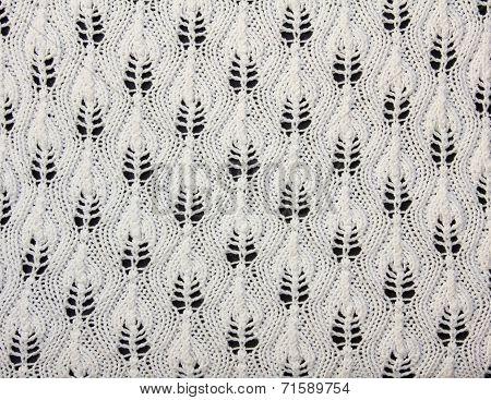 Handmade Knitwear With Artistic Pattern
