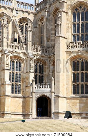 Windsor, England,anniversary of Parliamentary forces plundering the chapel at Windsor Castle in the