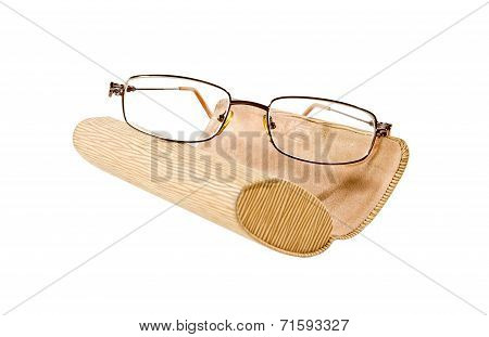 Sunglasses And Eyeglass Case