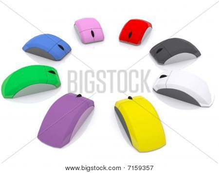 Colored mice