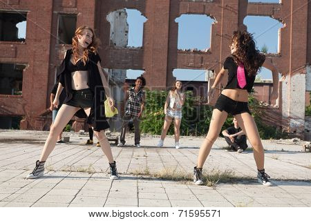 Energetic Young Hip Hop Street Dancer