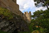 picture of rabies  - Rabi Castle. South part of Czech Republic