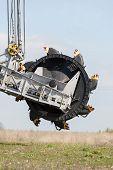 stock photo of open-pit mine  - Open pit - JPG