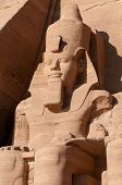 pic of north sudan  - The Great Temple of Abu Simbel on the border of Egypt and Sudan - JPG