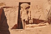 image of north sudan  - The Great Temple of Abu Simbel on the border of Egypt and Sudan - JPG